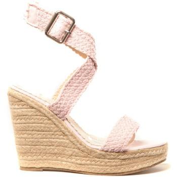 Zapatos Mujer Alpargatas Cassis Côte d'Azur Chaussures Alika Rose Rosa