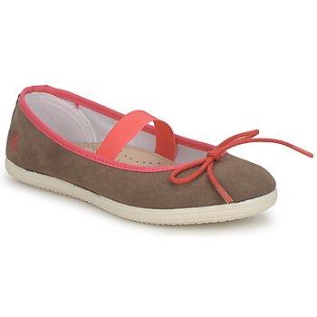 Zapatos Niña Bailarinas-manoletinas Petit Bateau KITY KID Kaki