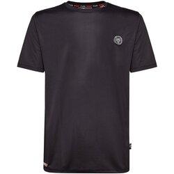 textil Hombre camisetas manga corta Philipp Plein Sport T-Shirts MTK2108 LUKA negro