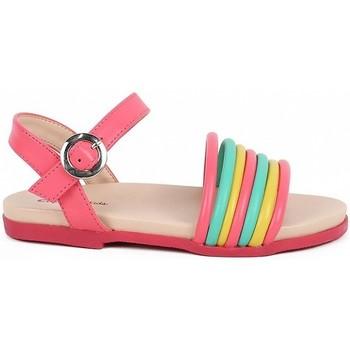 Zapatos Niña Sandalias Chika 10 GUINDA Multicolor Multicolor