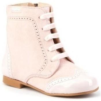 Zapatos Niña Botas urbanas Angelitos 599 Rosa Rosa