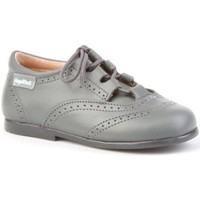 Zapatos Niña Derbie Angelitos 505 Gris Gris
