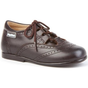 Zapatos Niño Derbie Angelitos 505 Chocolate Marrón