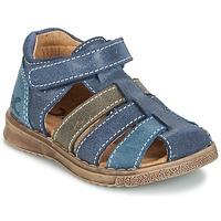Zapatos Niño Sandalias Citrouille et Compagnie FRINOUI Marino / Gris