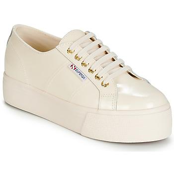 Zapatos Mujer Zapatillas bajas Superga 2790 LEAPATENT Crudo