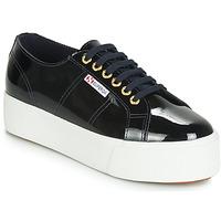 Zapatos Mujer Zapatillas bajas Superga 2790 LEAPATENT Marino