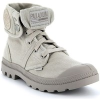 Zapatos Mujer Zapatillas altas Palladium Manufacture Boots Pallabrouse Baggy Grises
