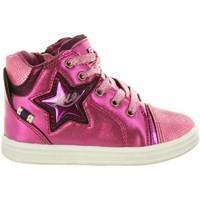Zapatos Niña Zapatillas altas Lois Jeans 46019 Rosa