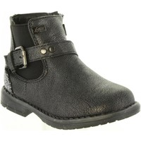 Zapatos Niña Botas de caña baja Lois Jeans 46069 Plateado