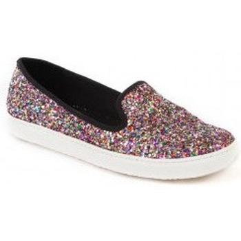 Zapatos Mujer Slip on Minueto Sneakers California Multicolor