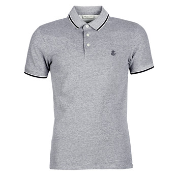 textil Hombre polos manga corta Selected SLHTWIST Gris