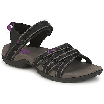 Zapatos Mujer Sandalias de deporte Teva TIRRA Negro / Gris