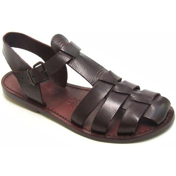 Zapatos Mujer Sandalias Gianluca - L'artigiano Del Cuoio 501 D MORO CUOIO Testa di Moro