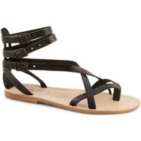 Zapatos Mujer Sandalias Gianluca - L'artigiano Del Cuoio 564 D NERO LGT-CUOIO nero