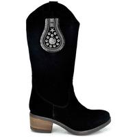 Zapatos Mujer Botas urbanas Exé Shoes BOTA COWBOY ANTE TEXAS-760 Color Negro