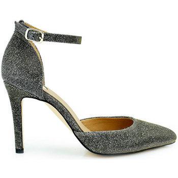 Zapatos Mujer Zapatos de tacón Exé Shoes ZAPATO TACON PULSERA BRILLO GARDA-300 Color Gris