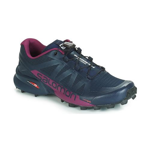 Zapatos Mujer Running / trail Salomon SPEEDCROSS PRO 2 Negro / Violeta