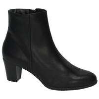 Zapatos Mujer Botas de caña baja Moda Bella Botines elegantes NEGRO