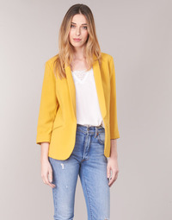 textil Mujer Chaquetas / Americana Betty London IOUPA Amarillo