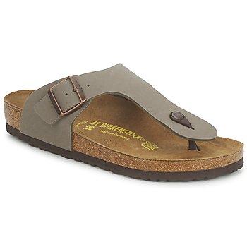 Zapatos Hombre Chanclas Birkenstock RAMSES Gris