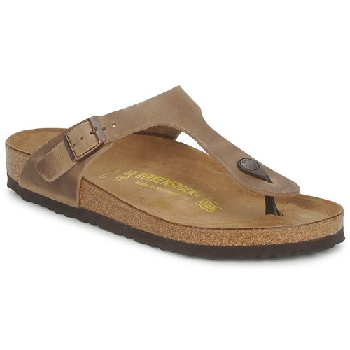 Los zapatos más populares para hombres y mujeres Birkenstock GIZEH Marrón - Envío gratis Nueva promoción - Zapatos Chanclas Mujer  Marrón