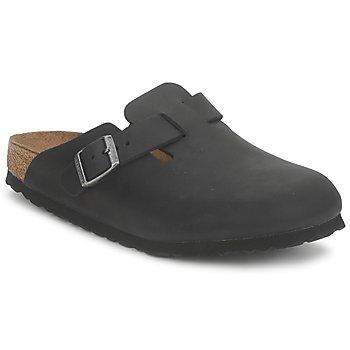 Zapatos Zuecos (Clogs) Birkenstock BOSTON PREMIUM Negro