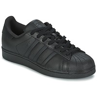 Zapatos Zapatillas bajas adidas Originals SUPERSTAR FOUNDATION Negro