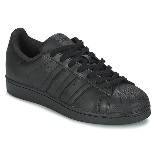 Foundation Superstar Adidas Bajas Originals Zapatillas Negro Zapatos JlFc1K