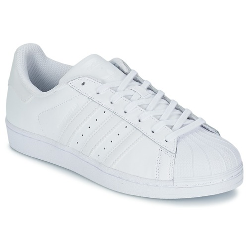 Zapatos especiales para hombres y mujeres adidas Originals SUPERSTAR FOUNDATION Blanco