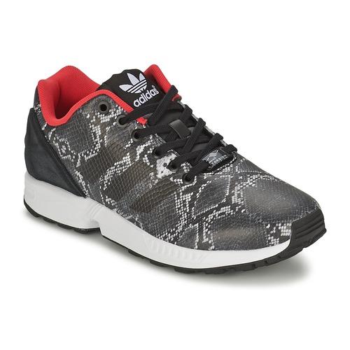 Zapatos Mujer Zapatillas bajas adidas Originals ZX FLUX W Gris