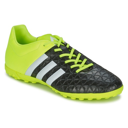 Zapatos Hombre Fútbol adidas Performance ACE 15.4 TF Negro / Amarillo