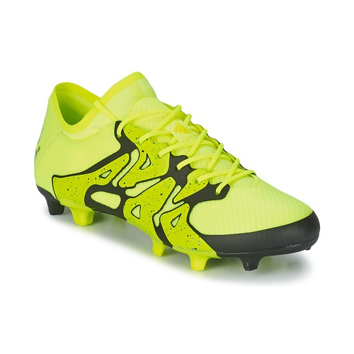 Zapatos especiales para hombres y mujeres adidas Performance X 15.1 FG/AG Amarillo