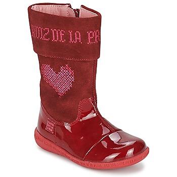 Botas Agatha Ruiz de la Prada DAFNE Rojo 350x350