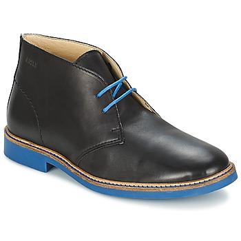 Zapatos Hombre Botas de caña baja Aigle DIXON MID 3 Negro