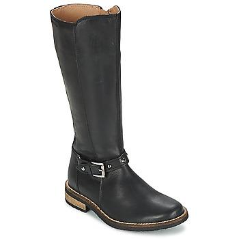 Zapatos Niña Botas urbanas Garvalin KAISER Negro