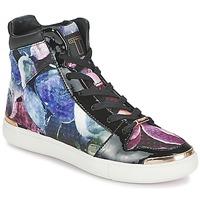 Zapatos Mujer Zapatillas altas Ted Baker MADISN Negro / Multicolor