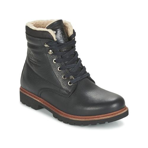 Zapatos especiales para hombres y mujeres Panama Jack PANAMA Negro