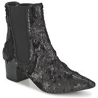 Zapatos Mujer Botas de caña baja RAS ANAHI Negro
