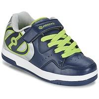 Zapatos Niño Zapatos con ruedas Heelys HYPER Marino / Plateado / Verde