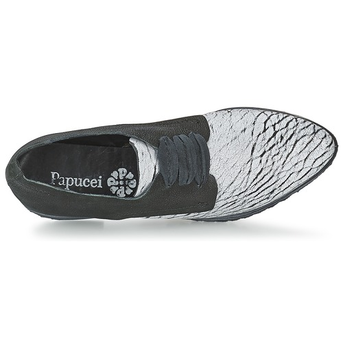 Mujer NegroBlanco Papucei Zapatos Shades Derbie fyb7gY6