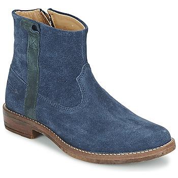 Zapatos Niña Botas de caña baja Shwik TIJUANA STRIPES Marino