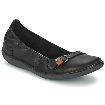 Zapatos Mujer Bailarinas-manoletinas TBS MALINE Negro