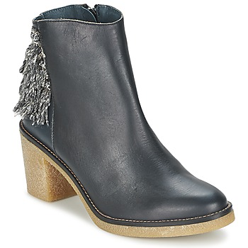 Zapatos Mujer Botines Miista BRIANNA Azul / Marino