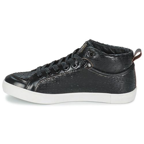 Zapatos Mujer Delta Negro Mid Feiyue Altas Zapatillas Dragon redoBWCx