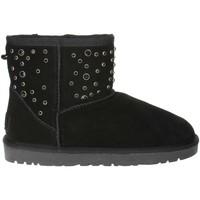 Zapatos Mujer Botas de nieve Pregunta PL5854TZ 001 Negro