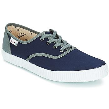 Zapatos Zapatillas bajas Victoria INGLESA LONA DETALL CONTRAS Marino
