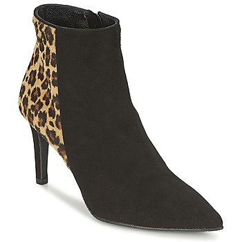 Zapatos Mujer Low boots Nome Footwear RAVISSANTE Negro / Leopardo