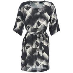 textil Mujer vestidos cortos Nümph GINGER Negro / Blanco