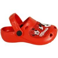 Zapatos Niña Zuecos (Mules) Minnie 2301-1119 Rojo