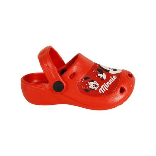 Zapatos Niña Zuecos (Mules) Disney 2301-1119 Rojo
